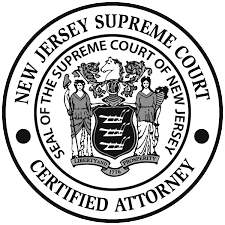 New Jersey Supreme Court Certified Attorney Seal Of The Supreme Court Of New Jersey Craig DiMarzio.