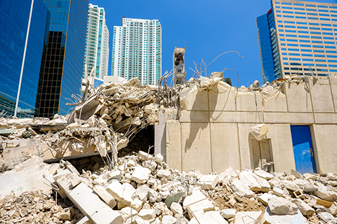 Building Collapse Attorneys New Jersey.